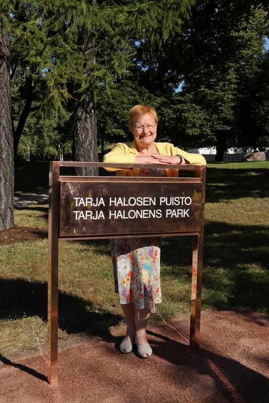 Tarja Halosen puisto_s